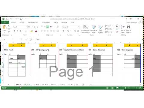 Financial Accounting 101 - Adjusting Journal Entries - Week 2 & 3