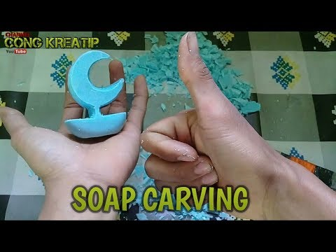 Soap Carving Demo with Mrs. Denny.