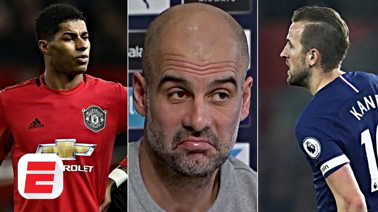 Pep Guardiola blames Marcus Rashford & Harry Kane injuries on fixture chaos | Premier League