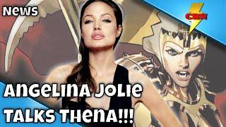 Marvel's The Eternals Update   Angelina Jolie Talks Thena!!