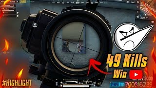 49 SQUAD KILLS IN ANGRY PRASH CUSTOM SERVER PUBG MOBILE HIGHLIGHTS