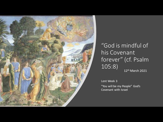 Lent'21 - Fr Javier - Friday Talks - wk3-12thMar: