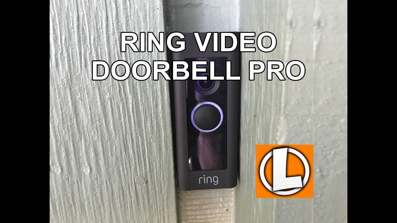 Unboxing Ring Pro Doorbell