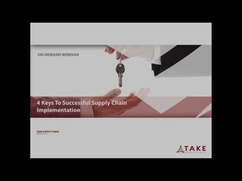 4 Keys To Successful Supply Chain Implementation