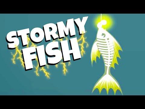 CATCHING The ULTRA RARE Stormy FISH! - Cat Goes Fishing Gameplay
