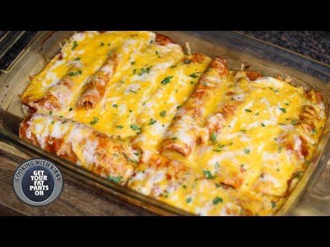 Chicken Enchiladas – Enchiladas de Pollo – Mexican Food