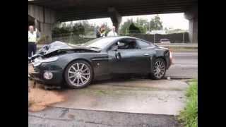 crash de voiture de luxe # attention les yeux ;)
