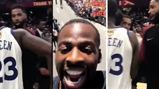 Draymond Talks About How He CURVED Tristan Thompson During Warriors Parade (2018)