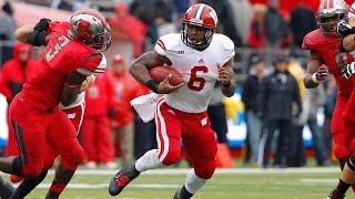 Wisconsin vs Rutgers Highlights