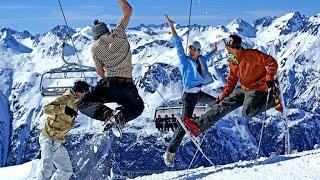 видео Популярные горнолыжные курорты Италии: карта, описание и как добраться