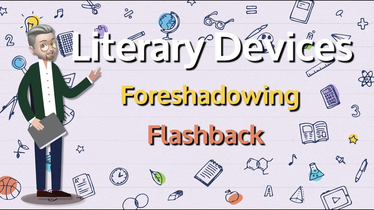 ESL - Literary Devices: Foreshadowing and Flashback - YouTube [ 720 x 1280 Pixel ]