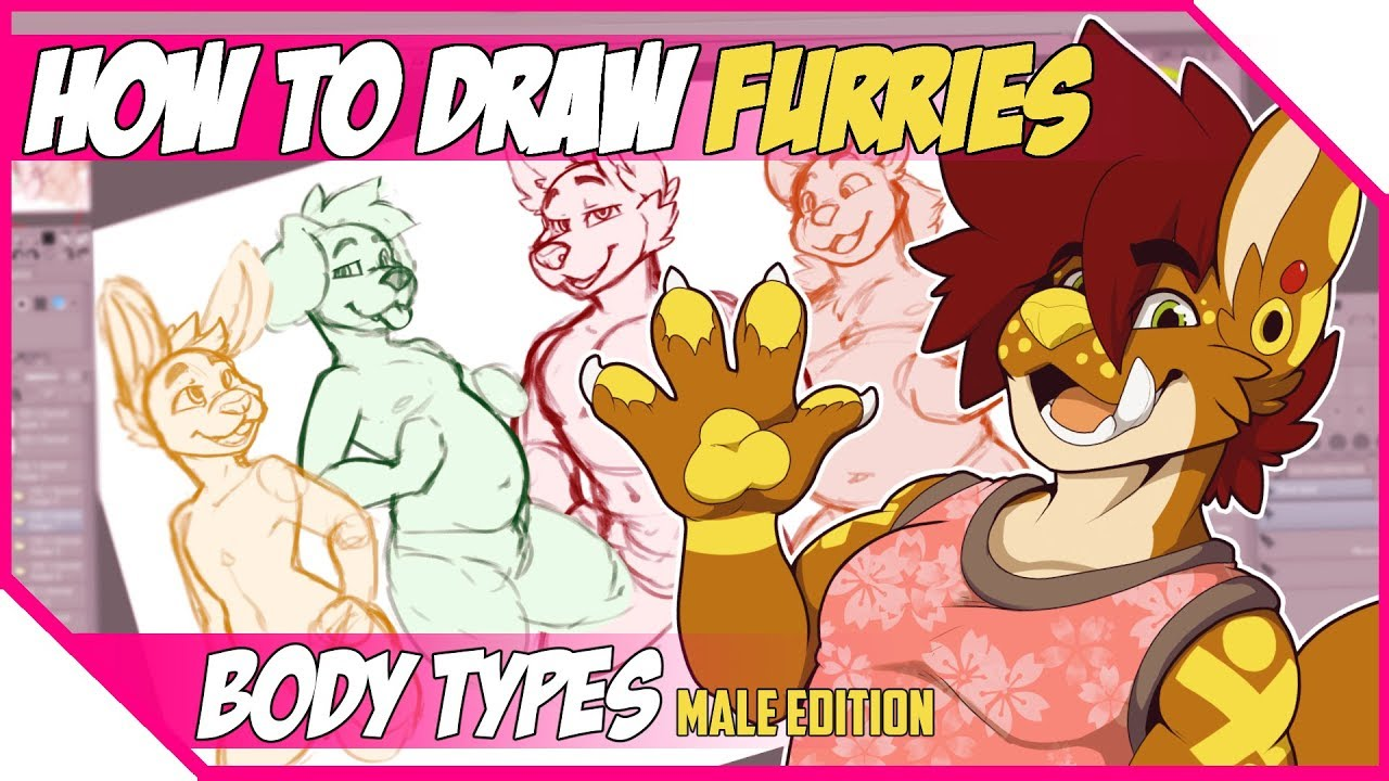 How To Draw Furries Body Types Males