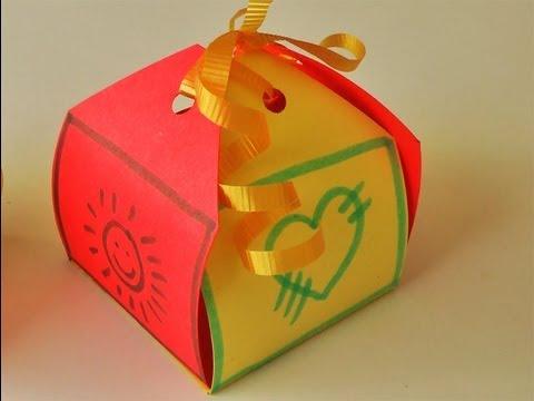 Manualidades cajita para regalo f cil manualidades - Manualidades para regalar en reyes ...