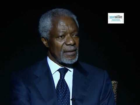 Interview: Kofi Annan - SportAccord Convention Dubai 2010