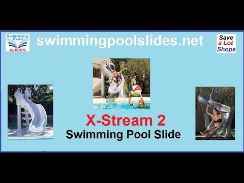 76b900d06 Pool Slides Inter Fab X Stream 2™ Slide in Action - YouTube