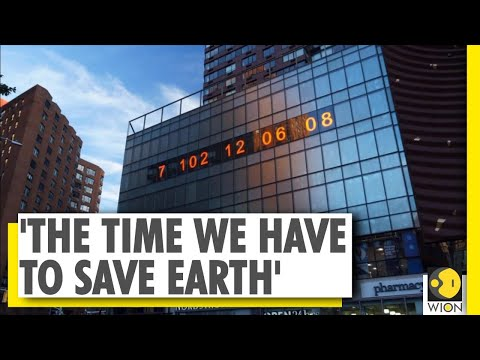 The 'Climate Clock', which tells us the time we have to save the world | New York | Climate Change