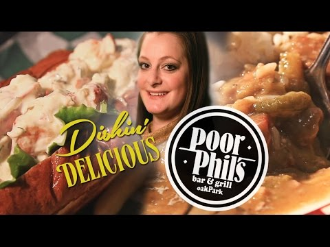 Dishin' Delicious: Lobster Roll & Gumbo at Poor Phil's Bar & Grill