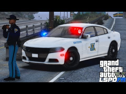 GTA 5 LSPDFR #541 | State Week | Indiana State Police | High