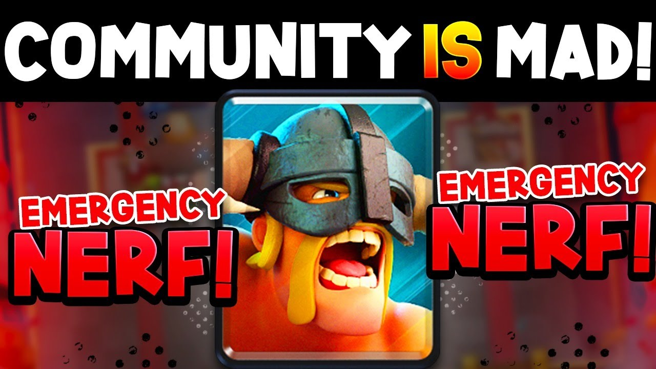 THEY EMERGENCY NERFED EBARBS AFTER THIS VIDEO!
