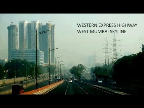 West Mumbai Skyline | Super fast Western express highway | India travel