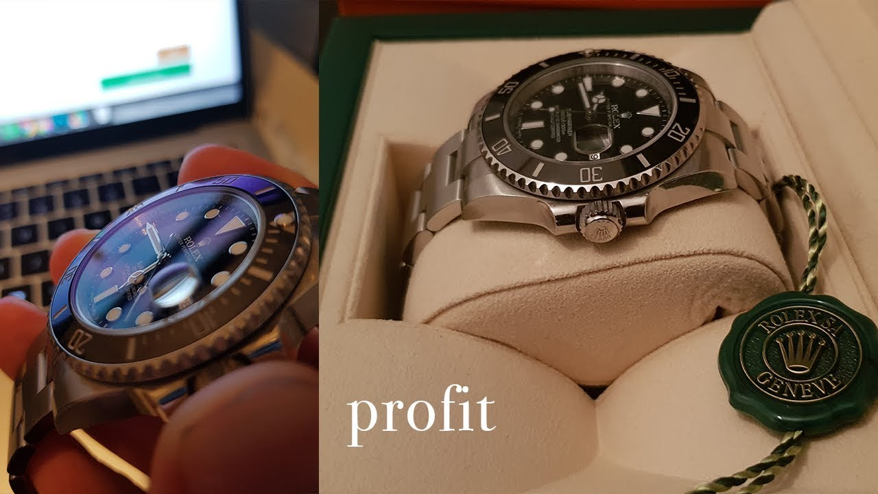9df47be3485 Selling Swiss Rolex Watches for Profit - YouTube