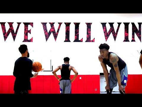 NBA Draft Training Session With Future NBA Player Wesley Iwundu | 2 Hours of WORK at SDSU