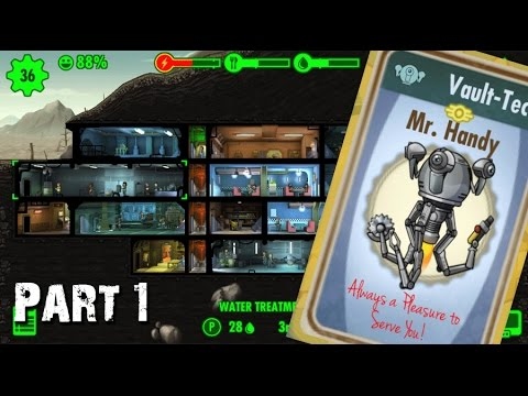 Fallout Shelter Free Mr Handy! - Part 1