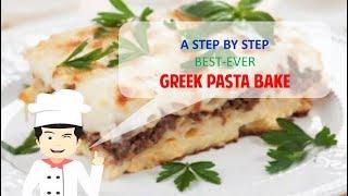 TASTY GREEK PASTA BAKE