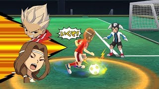 Inazuma Eleven Go Strikers 2013 Custom Inazuma Japan Vs Chaos Angel Rei Wii 1080p (Dolphin/Gameplay)