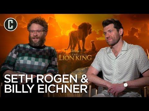 The Lion King: Seth Rogen & Billy Eichner