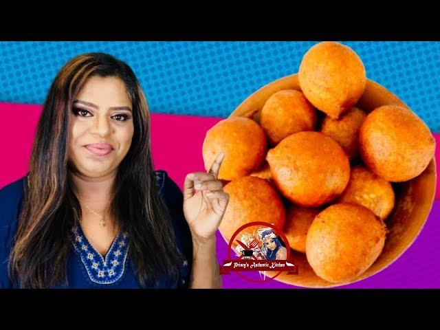 இலங்கயின் சுவை மிக்க வாழைப்பழ பணியாரம்   Sweet Banana Fritters   Vaippan