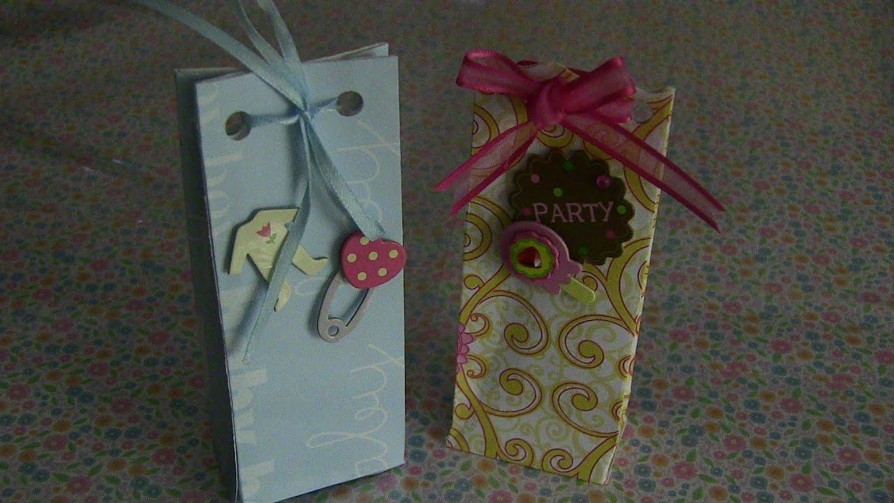 0a640cfc4 Mini Bolsitas para regalo o recuerdos de fiestas. Ideas y Manualidades