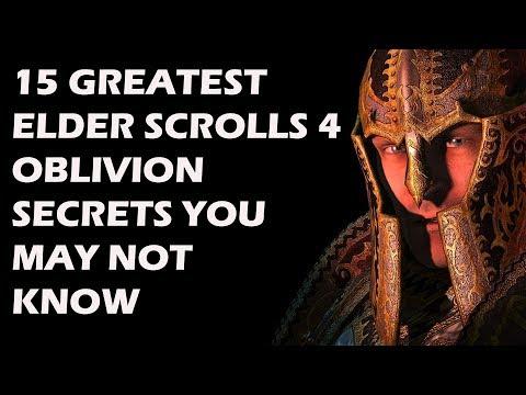 15 Greatest Elder Scrolls 4 Oblivion Secrets That Will Make You Wanna Replay It Immediately