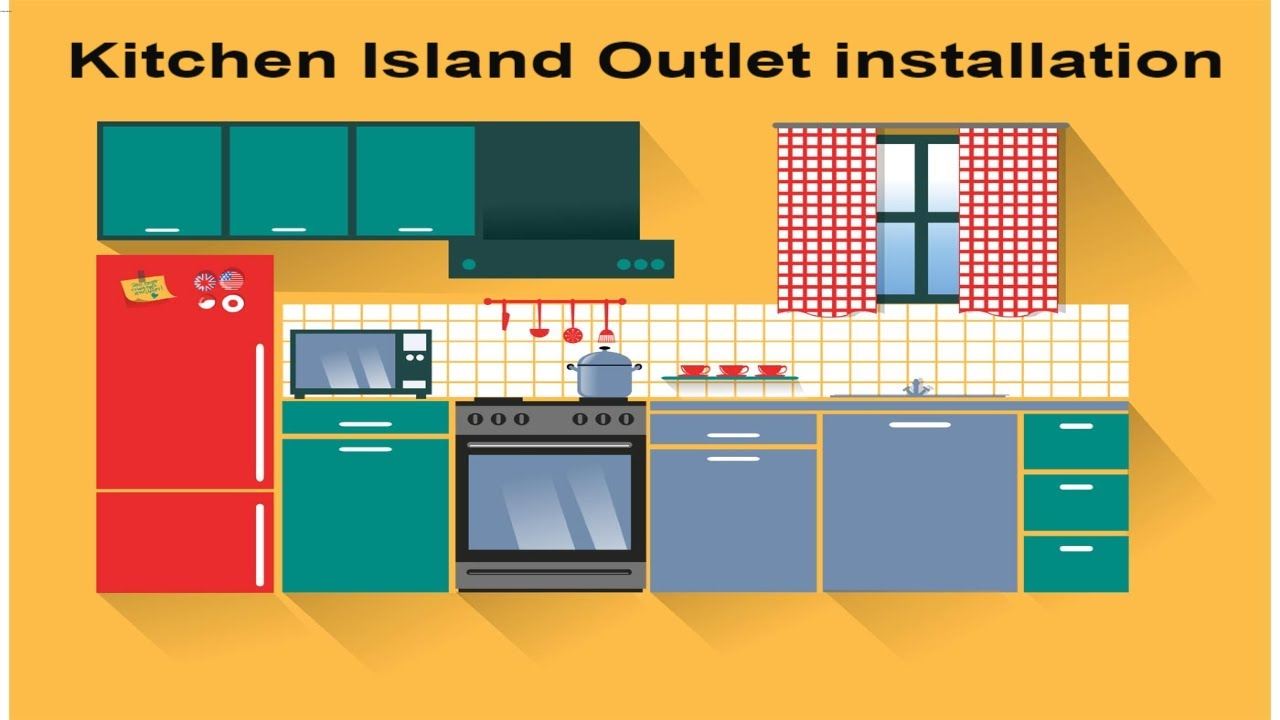 How To Install An Electrical Outlet In A Kitchen Island