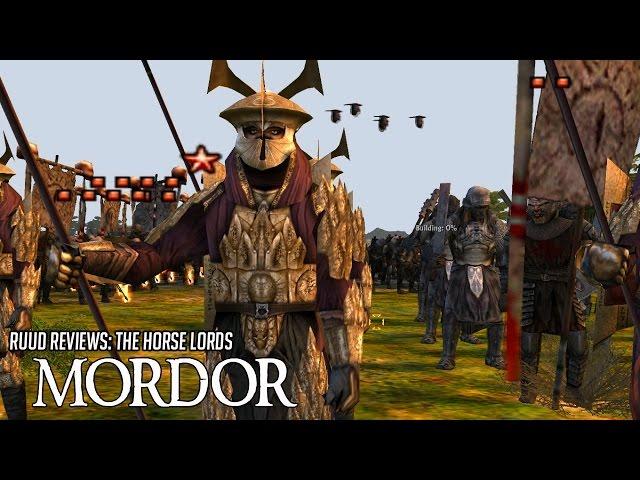 RotWK 2.02 - MORDOR - The Horse Lords Mod!! Awaken My Warriors!