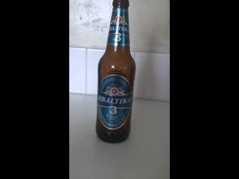 Baltika 3 beer review
