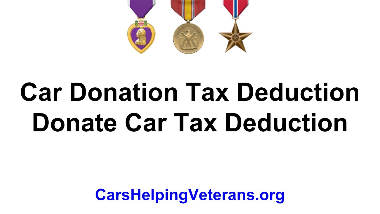 tax deductable donation