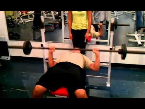 Fitness Assessment For Valdes Ymca Bench Press Test Youtube