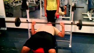 Fitness Assessment for Valdes: YMCA bench press test