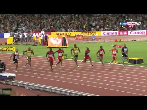Usain Bolt wins the 100m - 2015 World Athletics Championships in Beijing