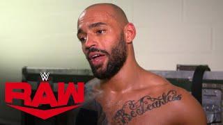 Ricochet recalls bringing Brock Lesnar to his knees: Raw Exclusive, Feb. 17, 2020