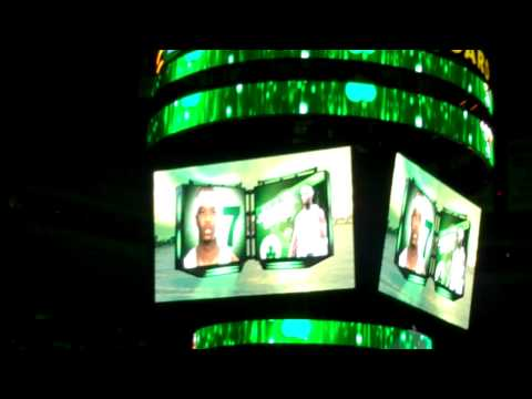 Celtics 2011 Playoff Intros (Game 1 Round 1 NYK)