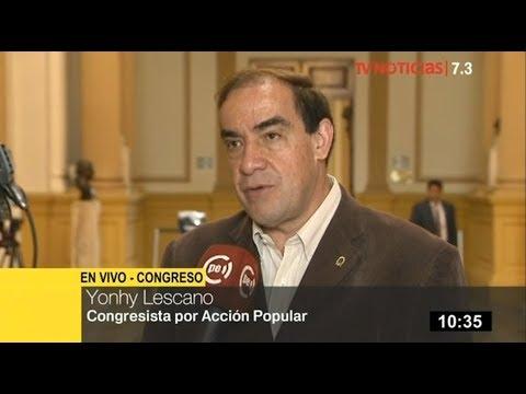 Congresista Lescano a García: Es uno de los peces gordos denunciados por Odebrecht
