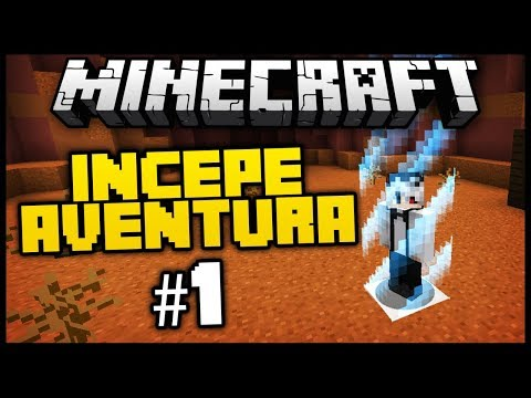 AVENTURA INCEPE - Captive Minecraft #1