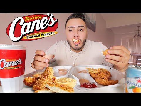 RAISING CANES MUKBANG - EATING SHOW