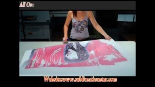 All Over T Shirt Sublimation Printing By Sublimation Paper