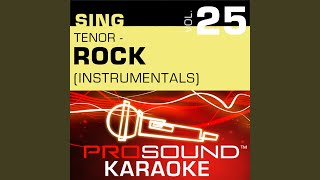 Shout (Karaoke Instrumental Track) (In the Style of Tears For Fears)