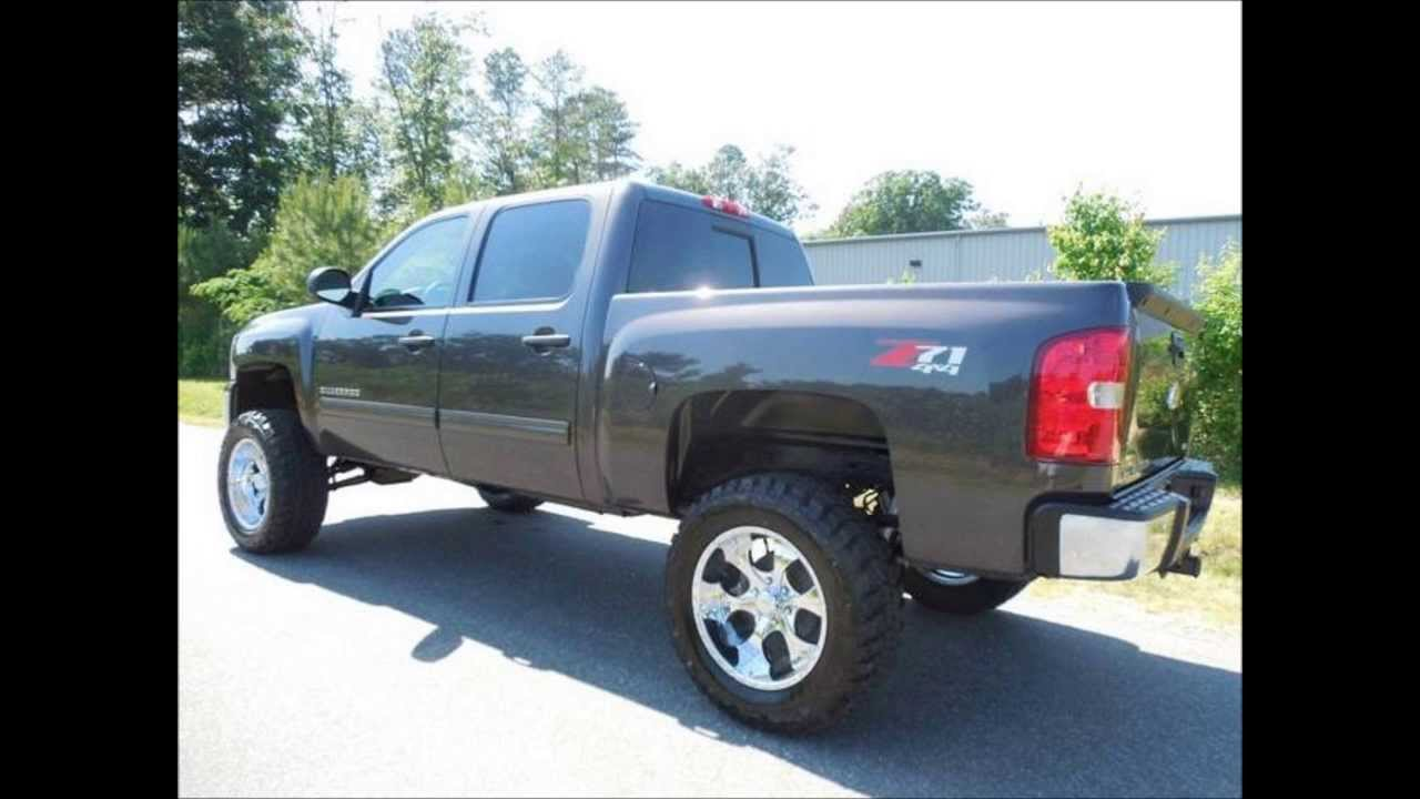 4 Inch Lift Kit For Chevy Silverado 1500 >> 2011 Chevy Silverado 1500 LT Crew Cab Short Bed 7.5 Inch Lifted Truck - YouTube