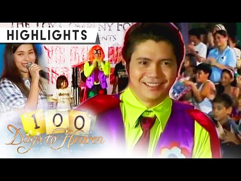 Pido performs in The Toy Company's outreach program | 100 Days To Heaven