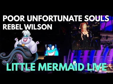 """Rebel Wilson sings """"Poor Unfortunate Souls"""" - Little Mermaid Live at The Hollywood Bowl"""